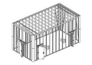 Framed Antenna Test chamber 1 - Comtest